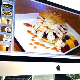 カフェ撮影|岐阜の広告デザイン事務所 イメージ
