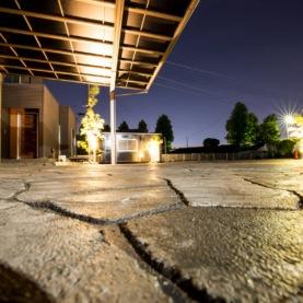 ローラーストーン 施工事例広告用撮影 イメージ