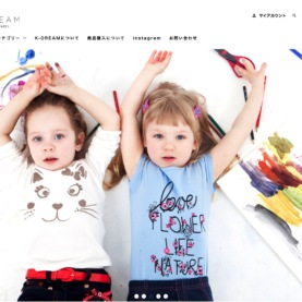 K-DREAM様 HPデザイン・構築 イメージ